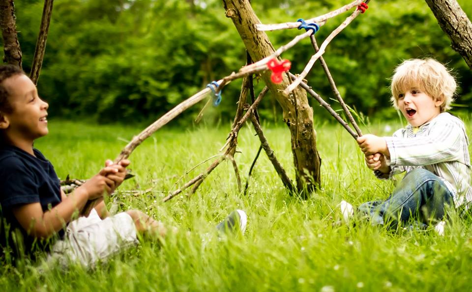Fun Fact: Outdoor Play = Healthy & Happy Kids